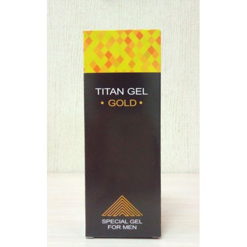 Titan Gel Gold - возбуждающий гель-лубрикант для мужчин (Титан Гель Голд)