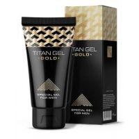 Гель для увеличения пениса Titan Gel Gold с возбуждающим эффектом