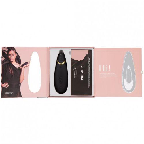 Бесконтактный стимулятор клитора цвет: черный  Womanizer Premium