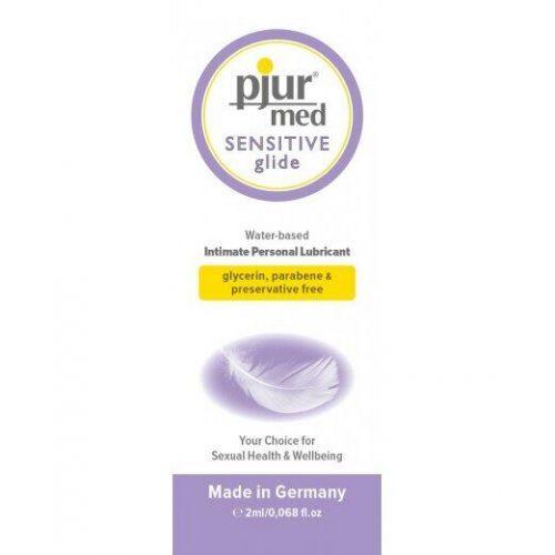 Пробник универсальный лубрикант на водной основе pjur Med SENSITIVE 2 ml