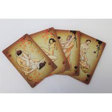 Карты подарочные сексуальные КАМАСУТРА 36 шт 6х10 см