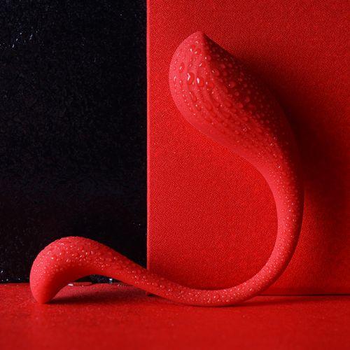 Интерактивное смарт-виброяйцо красное Phoenix Neo SVAKOM