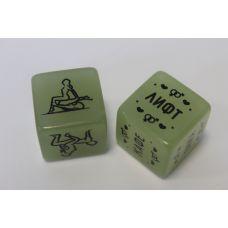 Кубики неоновые для эротической игры ВОЗЬМИ МЕНЯ