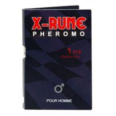 Пробник мужских духов с феромонами Aurora X-rune 1 ml