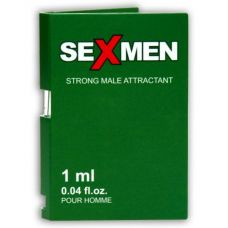 Пробник духов для мужчин с феромонами Aurora Sexmen Strong 1 ml