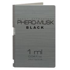 Пробник духи с феромонами мужские PHERO-MUSK BLACK 1 мл