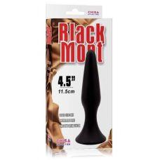 Анальный плаг черный Chisa Black Mont