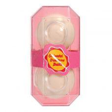 Вагинальные шарики со смещенным центром тяжести Scala Duoballs Soft бежевые