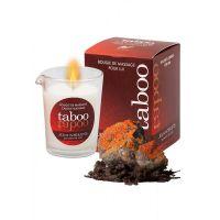 Массажная свеча для мужчин с ароматом дикого лишайника Ruf TABOO 60 гр