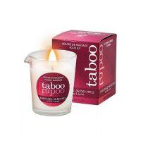 Свеча массажное масло для женщин с запахом леса Ruf TABOO 60 гр