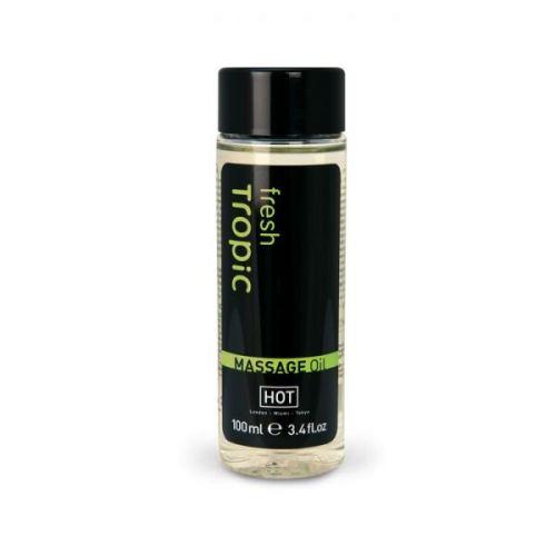 Массажное масло бодрящий с тропическим запахом Hot Fresh Tropic 100 мл