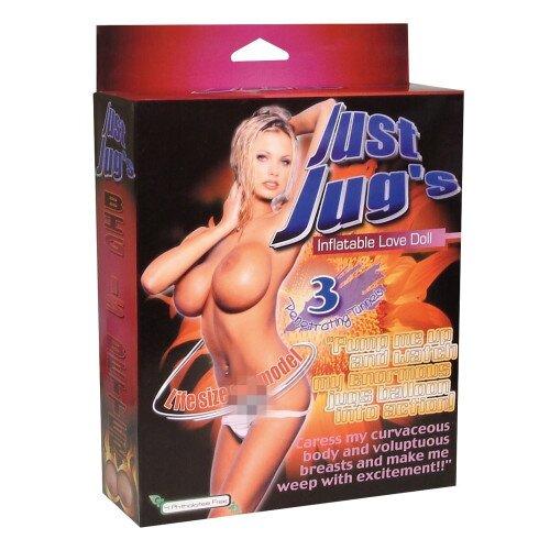 Секс кукла надувная резиновая JUST JUGS LOVE DOLL 501670