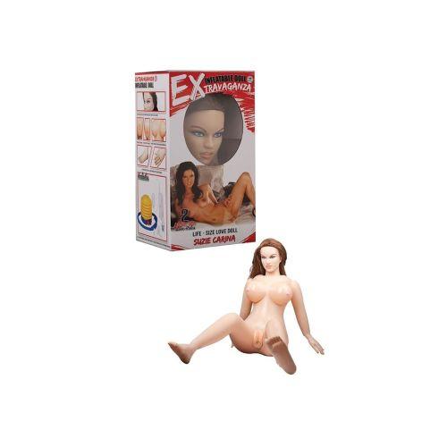 Надувная кукла для секса резиновая EXTRAVAGANZA SUZIE CARINA 510718