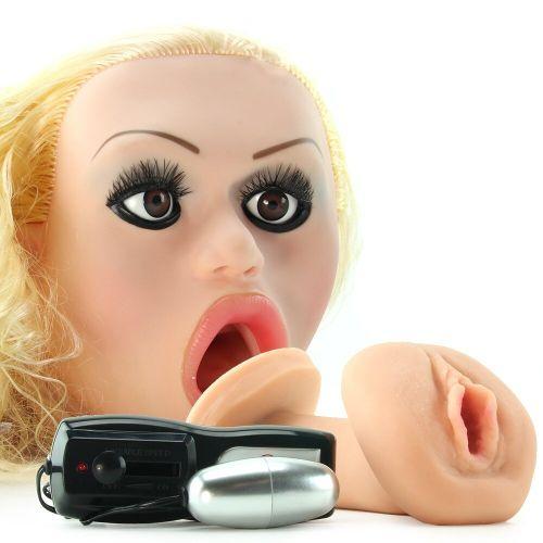 Надувная секс кукла с вибростимуляцией вставной вагиной Carmen Luvane