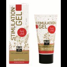 Возбуждающий гель для интимной стимуляции SHIATSU Hot chili (30 ml)
