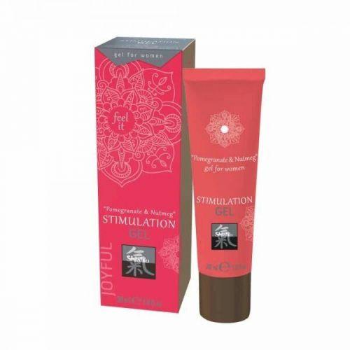 Гель для женской стимуляции Shiatsu Гранат и Мускатный орех 30 ml