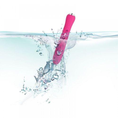 Вибратор с подогревом розовый Anya Heating Svakom, цвет розовый с вибрац. и функц. подогрева до 38 ℃