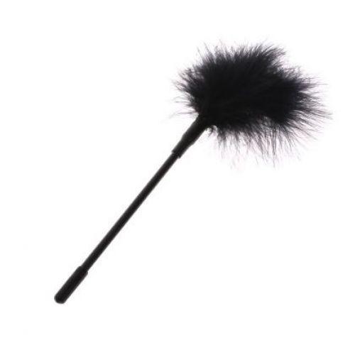 Кисточка с чёрными перышками для шалостей Long