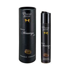 Массажное масло для с афродизиаком аромат шоколада Plaisir Secrets 59 мл