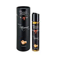 Масло для массажа возбуждающее с ароматом карамели Plaisir Secrets 59 мл