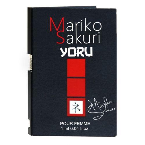 Духи с феромонами для женщин Mariko Sakuri Yoru 1 ml