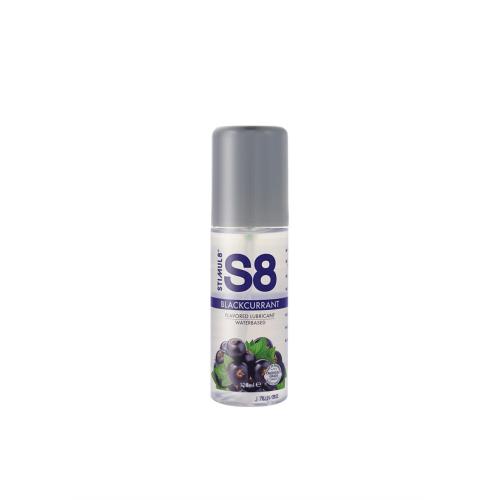 Лубрикант оральный на водной основе со вкусом черной смородины Stimul8 Flavored Lube 125 мл