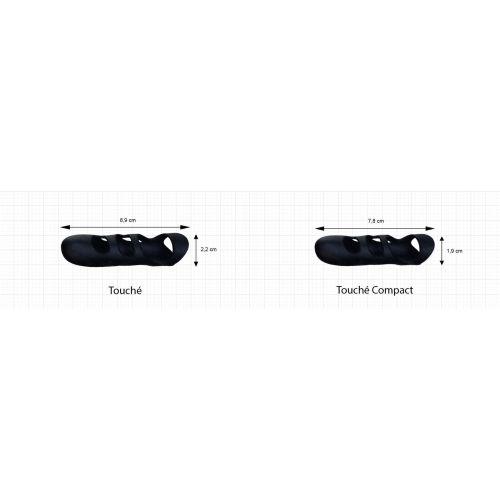 Вибропалец для клитора силиконовый Adrien Lastic Touche Compact (S)