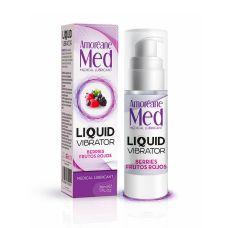 Возбуждающий гель (Жидкий вибратор) со вкусом Ягод LOVE MED