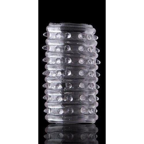 Насадка тунель на пенис, вибратор AR024 Cristal