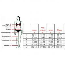 Женская сбруя для БДСМ из натуральной кожи Scappa B-14