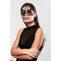 Маска-бабочки на глаза на стикерах для БДСМ SYBILLE Bijoux Indiscrets черный