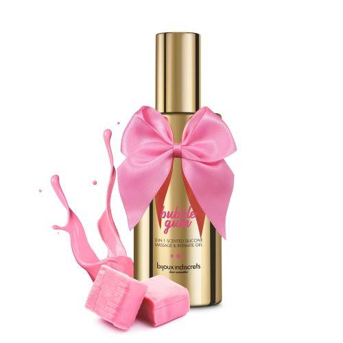 Массажный гель-лубрикант с ароматом жвачки 100мл Bijoux Cosmetiques