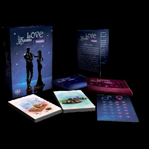 Настольная эротическая игра Love Фанты Romantic
