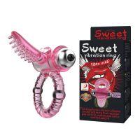 Эрекционное кольцо с вибрацией Lybaile Sweet Vibration Ring BI-014081
