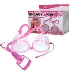 Двойная вакуумная помпа для увеличения объема груди Breast Pump