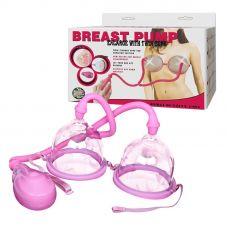 Автоматическая вакуумная помпа для увеличения груди Breast Pump