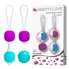Вагинальные шарики PRETTY LOVE Orgasmic ball BI-014265