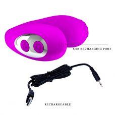 Оральный вибратор для минета фиолетовый MABELL Baile 55 мм