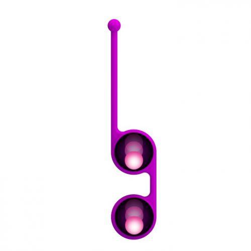 Вагинальные шарики с петелькой Pretty Love Kegel Tighten Up II BI-014493-2