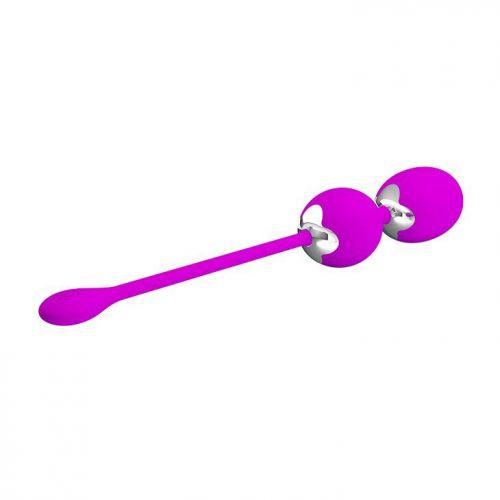 Вагинальные шарики с вибрацией с ручкой-петелькой Werner BI-014548