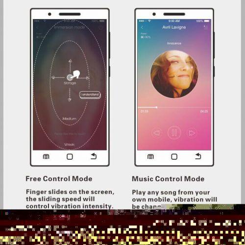 Виброяйцо с электростимуляцией управляемое смартфоном розовое из силикона Pretty Love Doreen