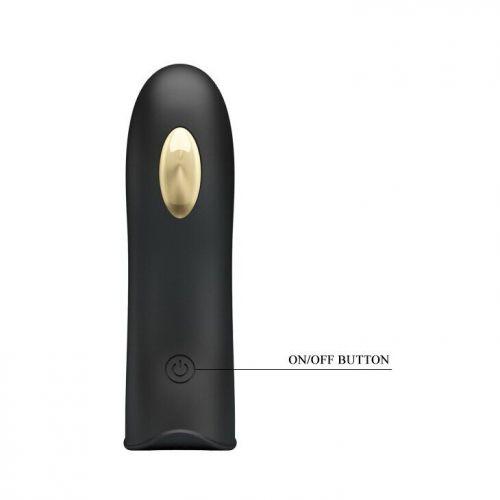Клиторальный стимулятор на палец черный Pretty Love MARICO Fingering Electric Vibrator