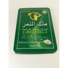 Таблетки для потенции Tiger King (зеленые)