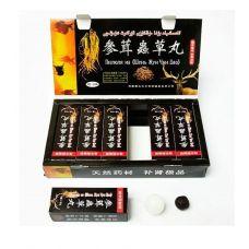 Пилюли для потенции мужчин Шень Жун Чун Цао 3 шт