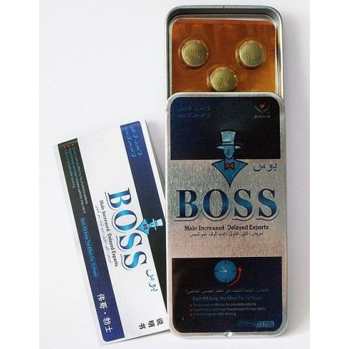 Возбуждающие таблетки для мужчин BOSS