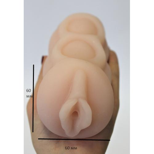 Мастурбатор-вагина из киберкожи BM-009158N