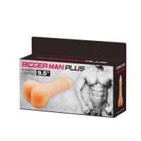 Мастурбатор BIGGER MAN 3 в 1 (может использоваться как мастурбатор, насадка для члена или фаллопротез)