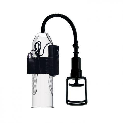 Вакуумная помпа с вибрацией для увеличения пениса Pretty Love Penis Pump AleXander BM-010066BPL