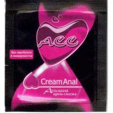 Крем-смазка на силиконовой основе для анального секса Creamanal Аcc саше 4 мл