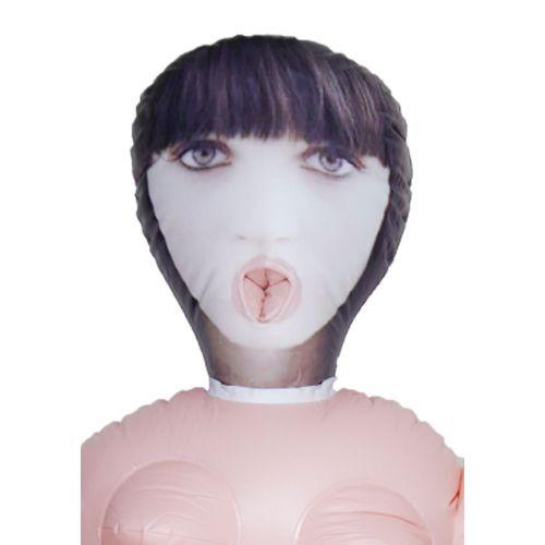 Надувная секс-кукла светлокожая брюнетка Krystyna